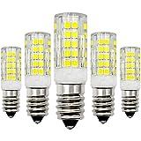 Lampadina E14 LED bianco freddo 12 V, 4 W, ricambio 40 W, lampadina alogena 6000 K, non dimmerabile, a basso voltaggio, 5 pezzi