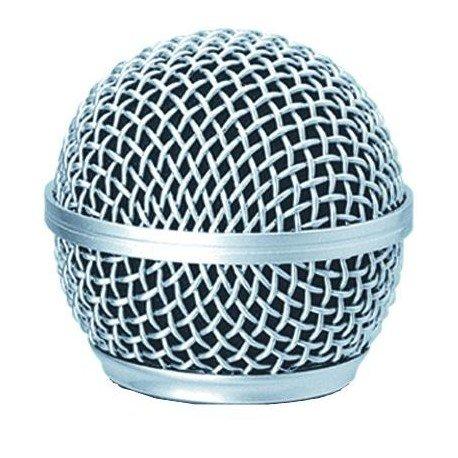 Rejilla de microfono compatible con SM 58 (incluye esponja)
