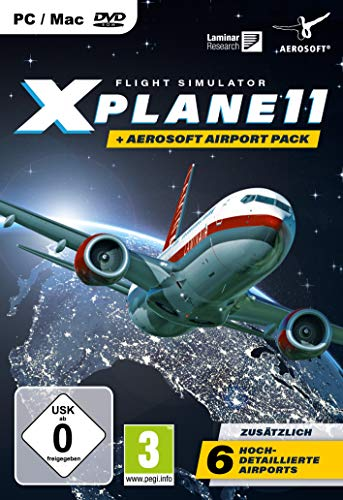 XPlane 11 + Aerosoft Pack - [PC]