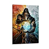 Mortal Kombat 11 Scorpion Poster dekorative Malerei