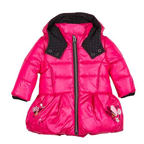 Catimini Baby-Mädchen Parka Pour Mantel, Pink (Fuchsia 35), 12-18 Monate (Herstellergröße: 18M)