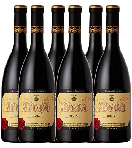 Vino Monte Real Reserva 75cl Pack-6