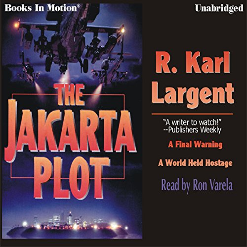 The Jakarta Plot audiobook cover art