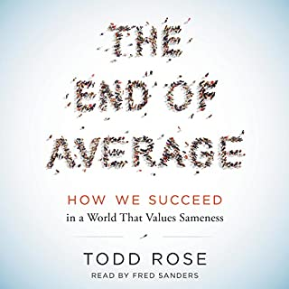 The End of Average audiobook cover art