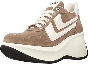 Calzado Deportivo para Mujer, Color marrón (Taupe), Marca GO SEXY X YELLOW, Modelo 80751