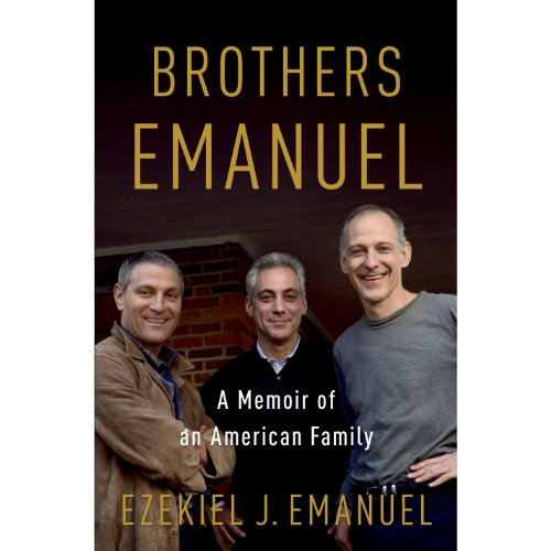 Brothers Emanuel audiobook cover art