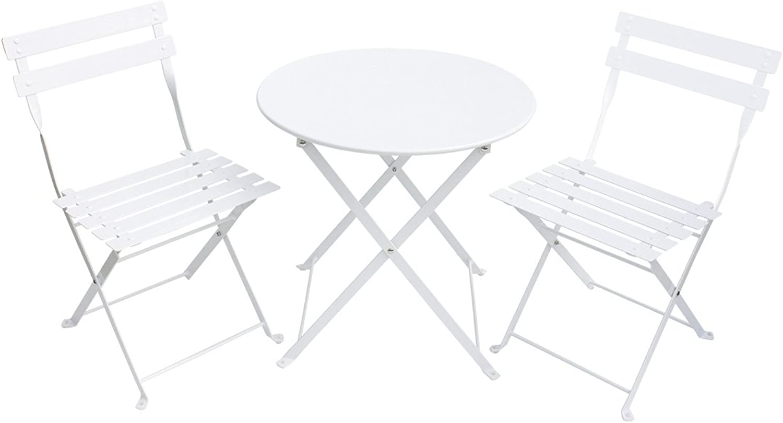 Jabadabado C1005 Cafe Set in Metal, White