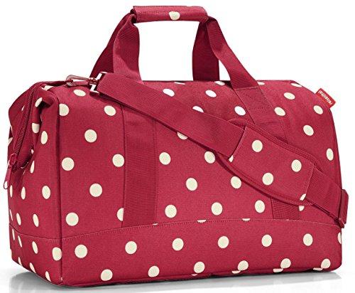 Reisenthel Reisetasche Allrounder L Overnight Weekend Travel Reisetasche - diverse Farben (ruby dots)