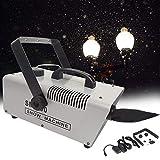 Máquina de nieve de 600 W de tamaño mediano con control remoto por radio, máquina de efecto de quitanieves, para bodas, fiestas de cumpleaños y niños,Navidad,600W