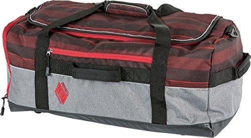 Nitro Reisetasche Team Duffle, Red Stripes, 60 x 28 x 32 cm / 53 L, 1151-878041