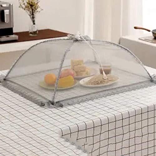 B/H Maillage de la Tente,Housse de Table à Manger Extra Large Housse de Table à Manger Housse végétale Pliante-D,Couvercle moustiquaire