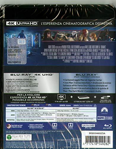 Blu-Ray - Iron Man 3 (Blu-Ray 4K Ultra Hd+Blu-Ray) (1 BLU-RAY)