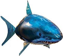 Henbrandes Control Remoto Tiburón Pez Volador Niño Padre-Hijo Interactivo Rompecabezas Pez Payaso Juguete Inflable Plástico del Globo de DIY