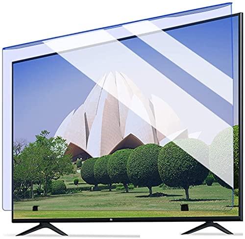 Auoeer 32'-75' TV TV Light Screen Screen Protector, Protección De Ojos Blue Light Protector Blocks Bloques Bloques Excesiva Nocivo Luz Azul Reduce La Fatiga Ocular