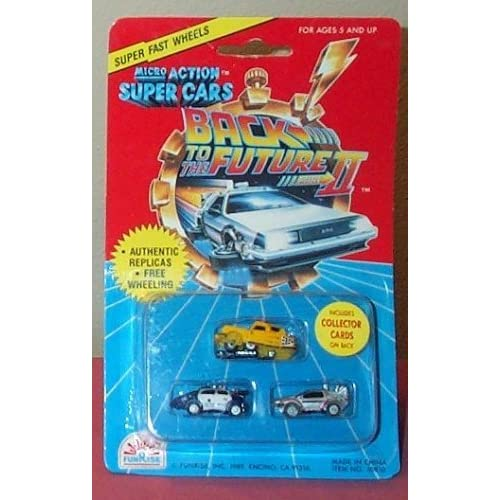 Back to the Future II Micro Action Super Cars