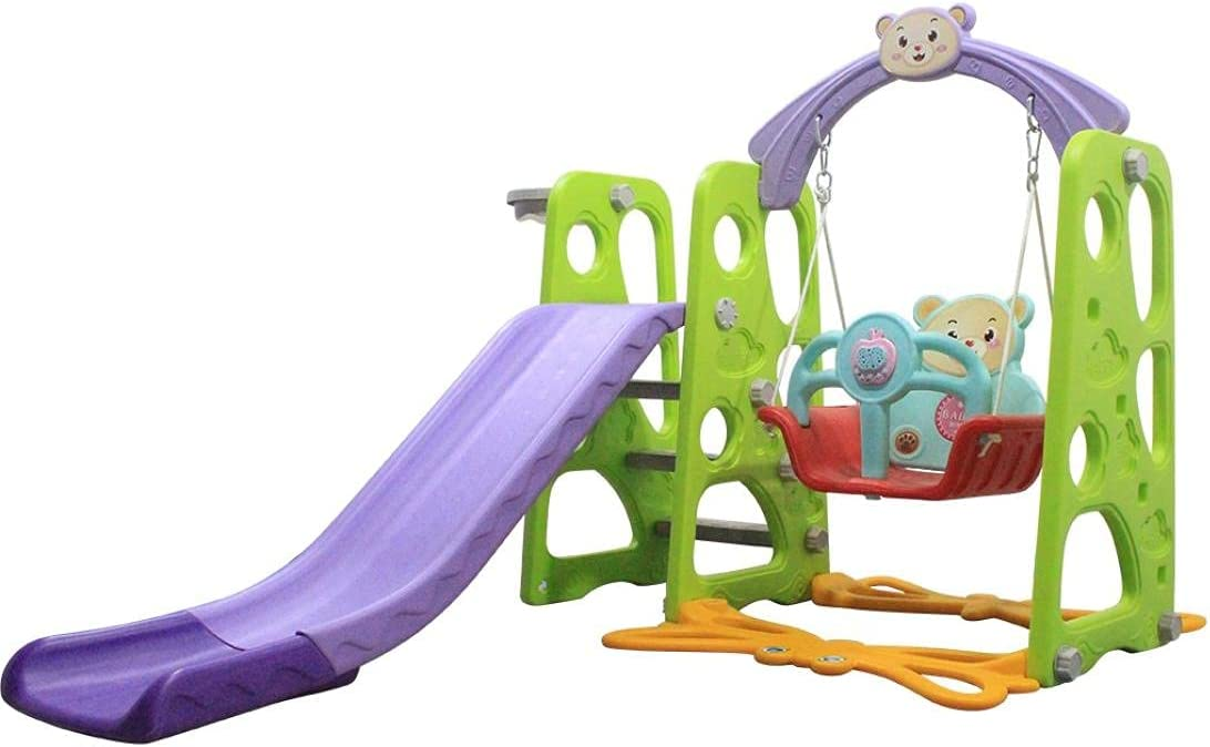 Toddler Slide and Swing Set 4 1 Climber Kids wholesale Play in Quality inspection