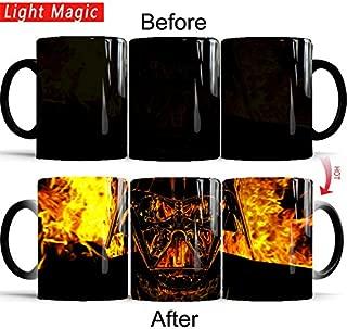 Star Wars Heat Change Coffee Tea 12 oz Ceramic Mug - Cold to Hot (Darth Vader)