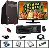 Rolltop Assembled Desktop Computer,Intel Core 2 Duo 3.0 GHZ Processor,G 31 Motherboard, RAM 2GB,15 Inch LED Monitor with Windows 7 & Office Trial Version,,Keyboard, Mouse, wi-fiAdaptor, VGA Cable, Power Cable ROLLTOP PC is Suitable for Office Work, H...