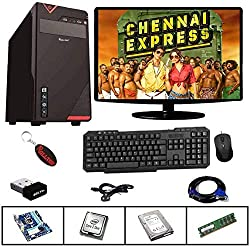 Rolltop® Assembled Desktop Computer,Intel Core 2 Duo 3.0 GHZ Processor,G 31 Motherboard, 15 Inch LED Monitor, 4 GB RAM with Windows 7 & Office Trial Version (320GB),ROLLTOP Infotech,Chex4GB