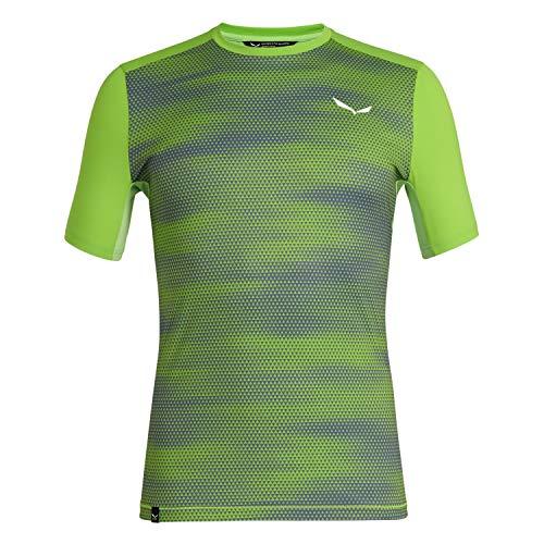 Salewa Herren Hemden und T-Shirts Pedroc Dry M S/Tee, Fluo Green, 46/S, 00-0000027425