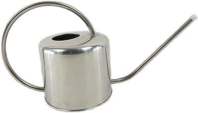 Small Esschert Design Stainless Steel Watering Can Modern Style