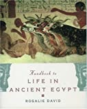 The Handbook to Life in Ancient Egypt by Rosalie David (1999-10-28)