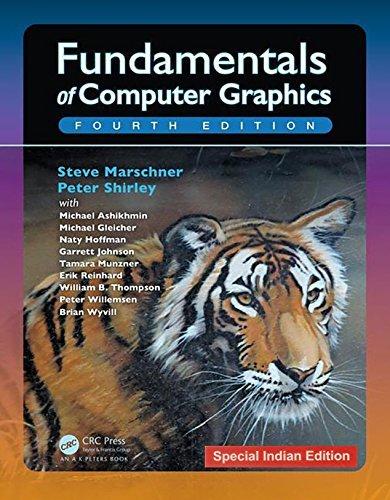 Fundamentals ot Computer Graphics.  Fourth Edition.