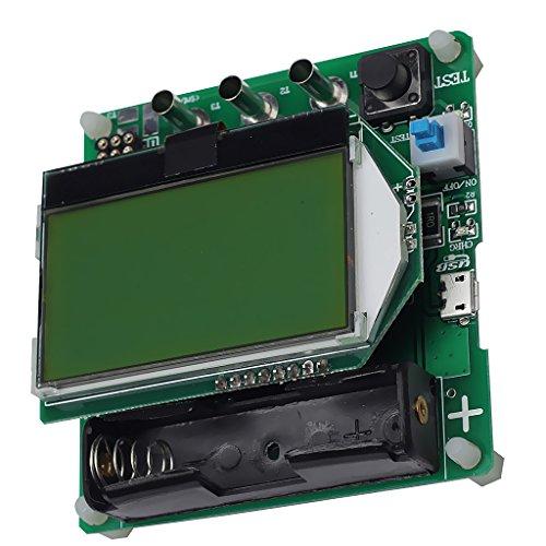 Probador De Componentes Transistor Diodo Capacitancia Comprobador ESR Medidor Inductancia