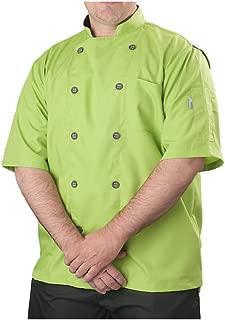 KNG Men's Short Sleeve Active Chef Coat