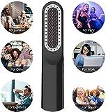 Bartglätterbürste, VLOXO Kabelloser Bartglätterkamm mit LCD-Display, tragbarer USB-Elektro-Heizbartbürste Haar-Ionenglätter-Kamm Anti-Brühe MEHRWEG - 5