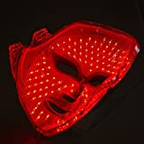 1 x maschera professionale per viso a LED, maschera estetica domestica, solo colore rosso LED auto-cura SBT-MASK-STD