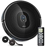2200Pa Robot Vacuum, Dser 22T Robotic Vacuum Cleaner, BoostGen Technology, Auto-Charge, Boundary Strip Supported, Super Quiet, Multi Cleaning Modes Robotic Vacuums for Hard Floor Carpet Pet Hair