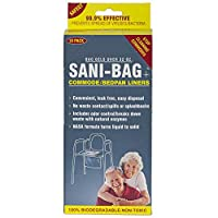 Cleanwaste Sani Bag-Plus Commode Liners-20 10パック (H645S10)