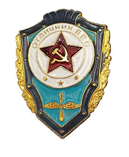 Abzeichen für Soldat Sargento, verlötet, URSS, 30 x 40 mm, historische Rezeption