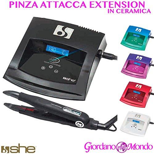 Machine attaque Extensions capillaires Pince à chaud en haute précision She professionnel pour coiffeur