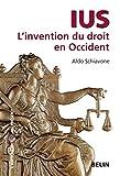 Ius - L'invention du droit en Occident - Belin - 20/01/2009