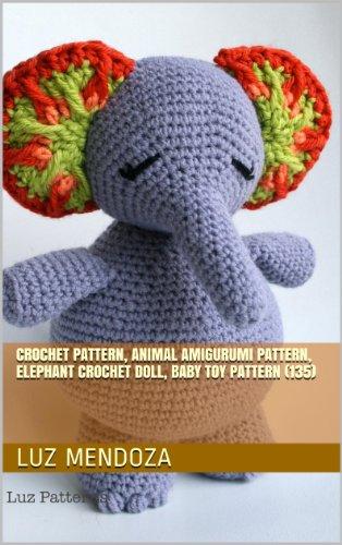 Pink crochet elephant pattern - Amigurumi Today | 500x314
