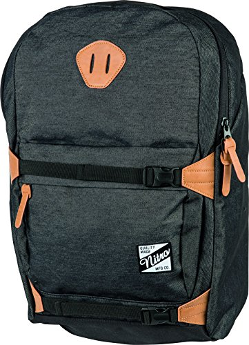 Nitro Snowboards Rucksack NYC Pack, Black Denim, 24 L