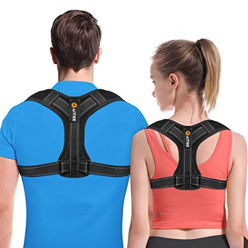 Back Posture Corrector for Men and Women - Posture Brace - Adjustable Back Straightener -Effective Comfortable Adjustable Posture Correct Brace - Posture Support - Kyphosis Brace (L)