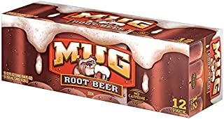 Mug Root Beer Cans (12 Count, 12 Fl Oz Each)