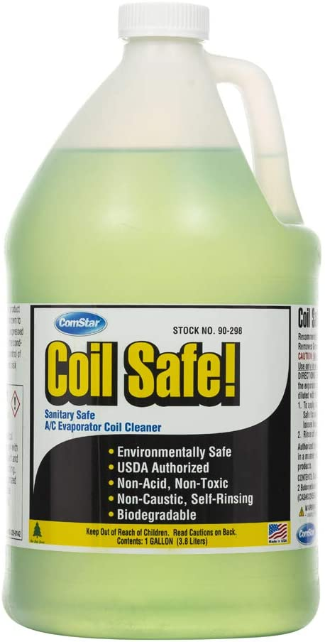 Comstar Coil Safe Professional Grade Coil Cleaner