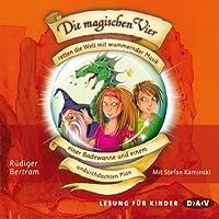 Die magischen Vier retten die Welt mit wummernder Musik, einer Badewanne und einem undurchdachten Plan (Die magischen Vier 2)'s image