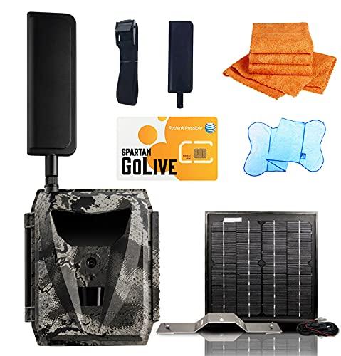 Spartan GoLive Solar Kit Bundle Deal with Mr.Towels Edgeless Microfiber Towel (GoLive AT&T GL-ATLEb)