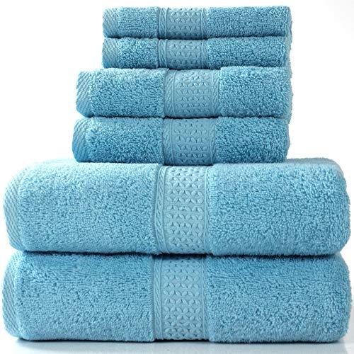 N/ A Katoen handdoek absorberende handdoek vierkante handdoek badhanddoek driedelige huishoudelijke driedelige combinatie badhanddoek