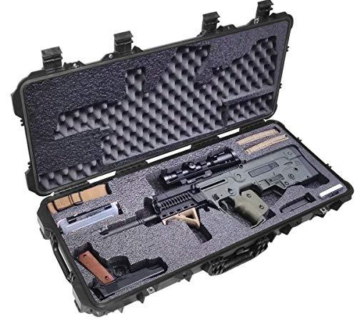 Case Club Pre-Cut Waterproof Bullpup Rifle Case with Accessory Box
