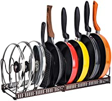 Toplife Cookware Rack for Pantry or Cabinet