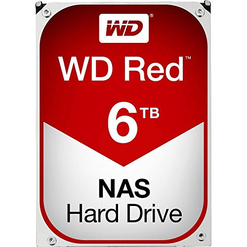Hard Disk interno 3,5 6 TB Western Digital Red Bulk WD60EFRX SATA III
