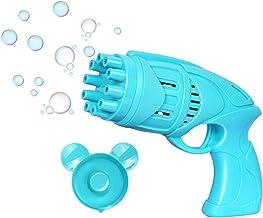 Bubble Gatling G un Bellenblaaspistool Bellenblaasmachine Bellenblaas Speelgoed Bellenkanon Met Ventilator 2 In 1 Voor Kin...