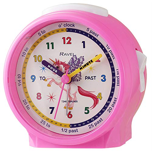Ravel Children's Bedside Alarm Clock - Pink U