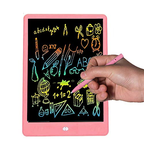 Bravokids Toys for 3-5 Years Old Girls Boys, LCD Writing Tablet 10 Inch Doodle Board, Electronic Drawing Tablet Drawing Pads, Educational Birthday Gift for 3 4 5 6 Years Old Boy and Girls (Pink)
